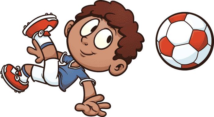 fodboldspiller-tegning-fodbold-dreng-saksespark-fritidsinteresser-cv