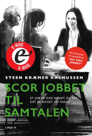 E-bog - forside til Scor jobbet til samtalen